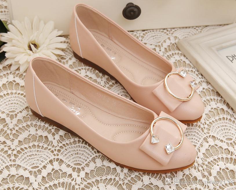 Free send Hot flat bottom pointed end shoes woman 2018 new style Korean single shoes free shipping top quality buy cheap manchester great sale discount best prices outlet locations sale online online shop from china NeqBfW