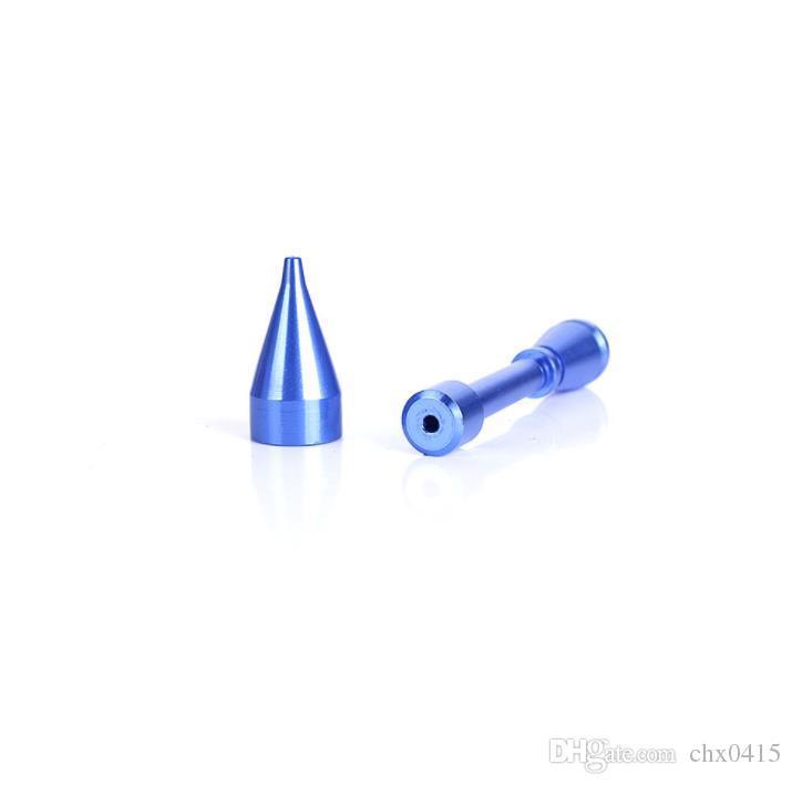Kleine Rakete glatte Demontage Pfeife Mini tragbare Zigarette Mundstück Zubehör Hardware Dekoration