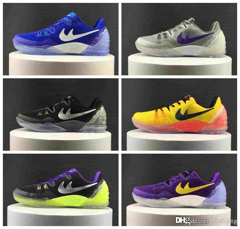premium selection 9a853 998be spain high quality kobe 11 elite men basketball shoes kobe 11 red horse  oreo sneakers kb