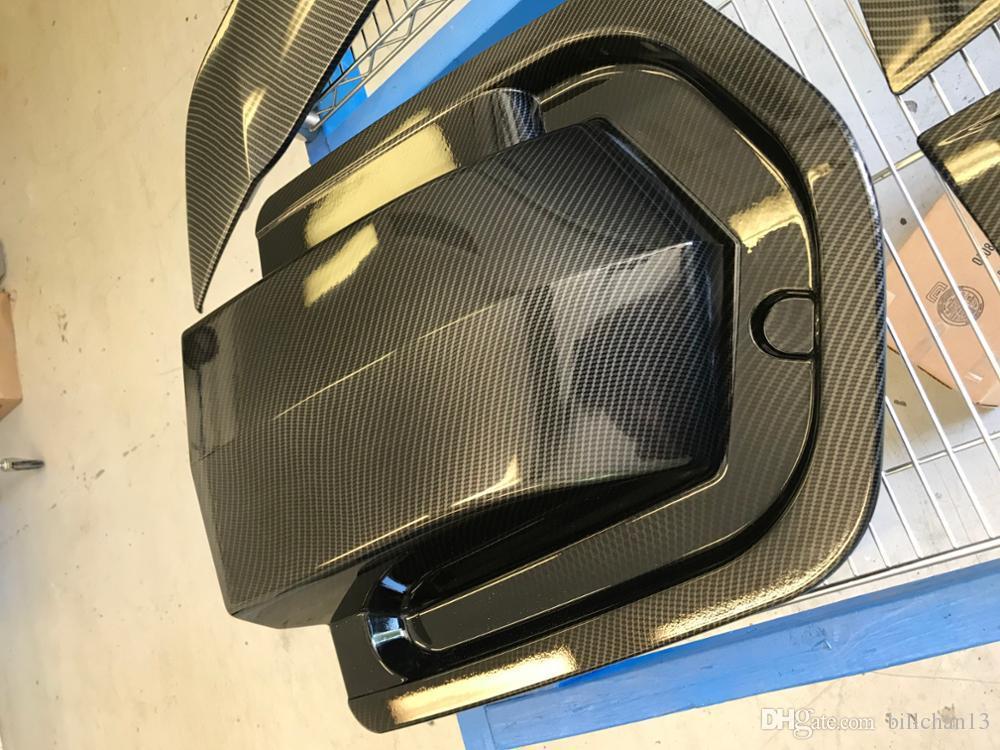 10m Length hydro dipping film Width 1M cool Carbon fiber hydro paint film  water transfer printing film 072-2