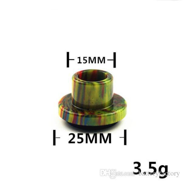 Cleito 120 Drip Tips Epoxy Resin Wide Bore Drip Tip Mouthpiece for Aspire Cleito 120 Atomizer Tank Coil E-cigarette Accessories