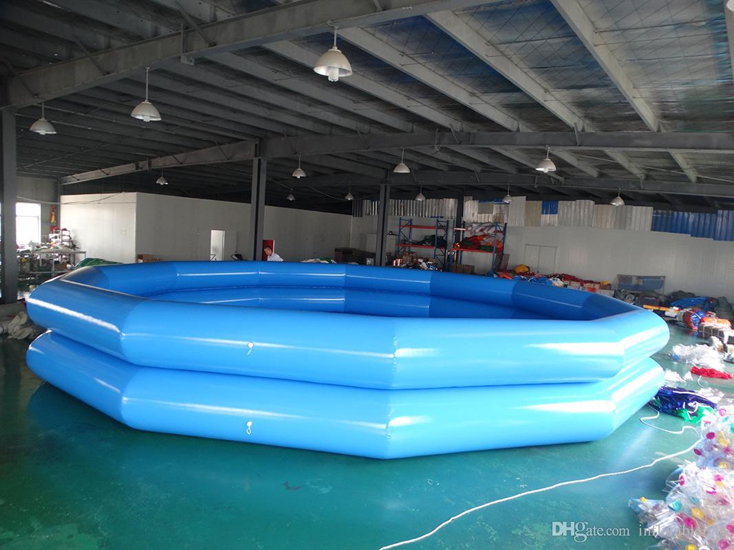 factory price inflatable swimming pool PVC tarpaulin pool for sale