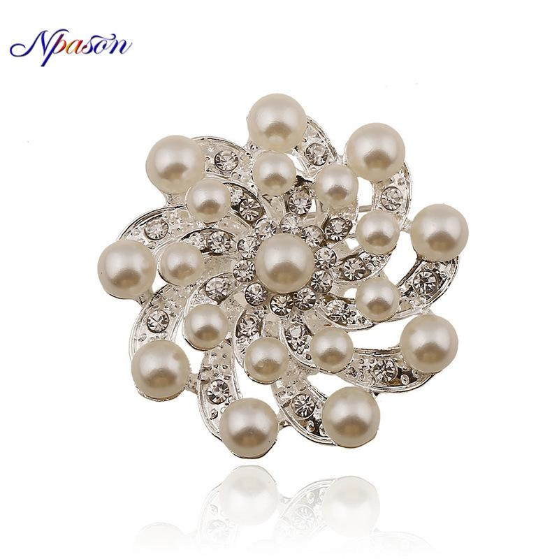 11cd44684e6 2019 Fashion Luxury Rhinestone Brooches Pins Brooch For Women Jewelry Sexy  Elegant OffLady Pins Wedding Accessories From Chuancai, $26.42 | DHgate.Com