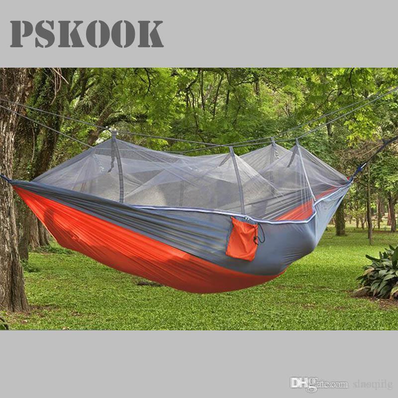 Wholesale Pskook Outdoor Camping Hammock Mosquito Net Lightweight