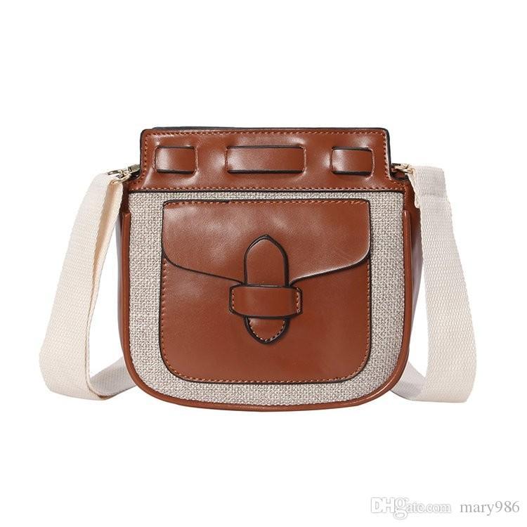 Acquista 2018 Nuovo Retro Mini Borsa Donna Borse Moda Designer Ladies Borse  A Spalla Tote Crossbody Messenger Wanhuotong   8 A  36.19 Dal Mary986  6b63125e104