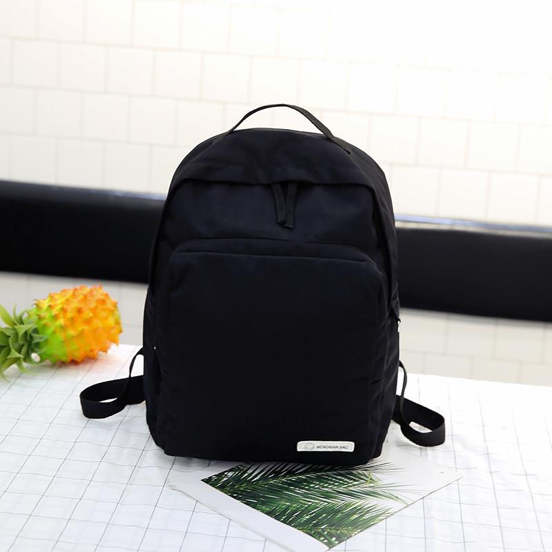 Portable Large Capacity Travel Backbags Gray Color Nylon Student School Bags  Backbags For Women Satchel Girl Shoulder Bags Backpacks For Men Jansport Big  ... 4984cc179d2bd