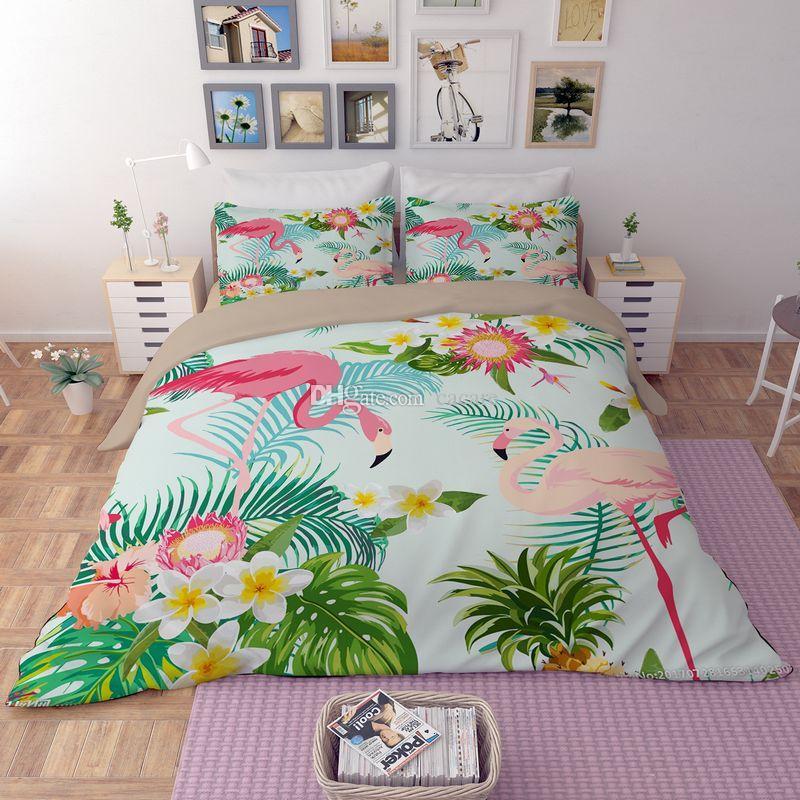 Juego de fundas de cama CHEAPEST es H043 Estampado de edredón de impresión Fundas de almohada Fundas de almohada Juego de cama de funda de cama Queen King Tamaños Juego de sábanas