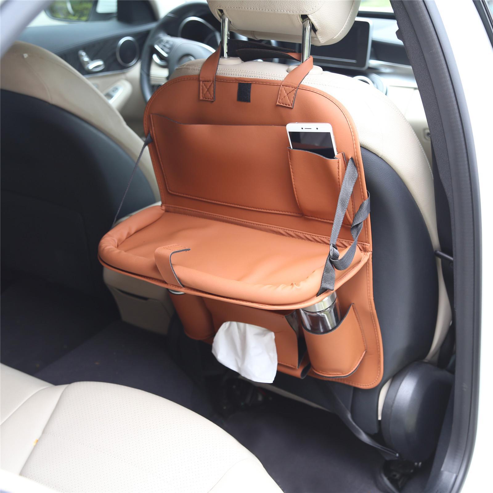 Wholesale Multi Function Car Back Seat Organizer Beverage Food