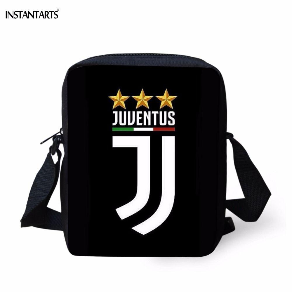 Acquista INSTANTARTS Borse A Tracolla Piccole Uomo Di Marca Designer Borse  Stampa A Tracolla Ragazzi Di Stampa 3D Juventus Borse A Tracolla  Adolescenti A ... d1aa7142c10
