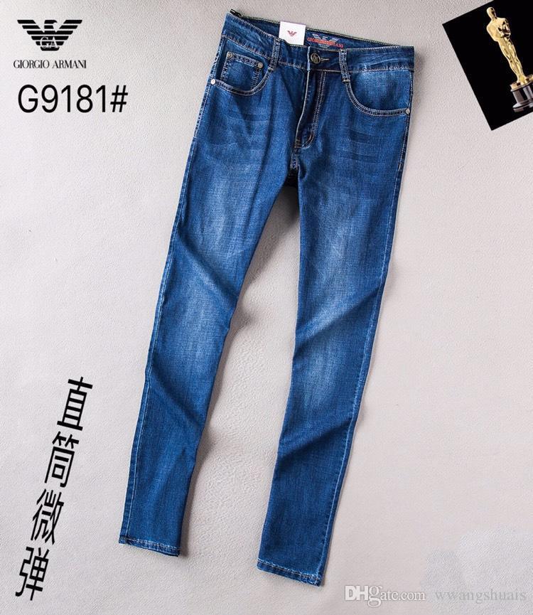 e91273d2c672 Acheter Gros Nouvelle Arrivée Marque De Mode Jeans Hommes Crâne Broderie  Droite Pantalon En Denim Hommes Hommes Pantalon Bleu Jean Hommes 1500 De   50.77 Du ...