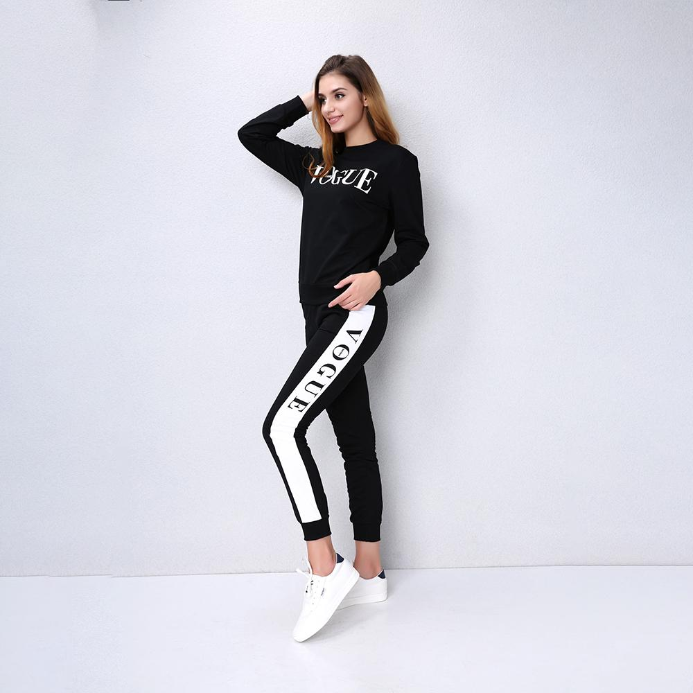 15873516782 2019 Autumn Winter Women Clothing Set Casual Fashion Vogue Sweatshirt +Long  Pants Tracksuit For Women Hoodie Suit Female From Clothingdh