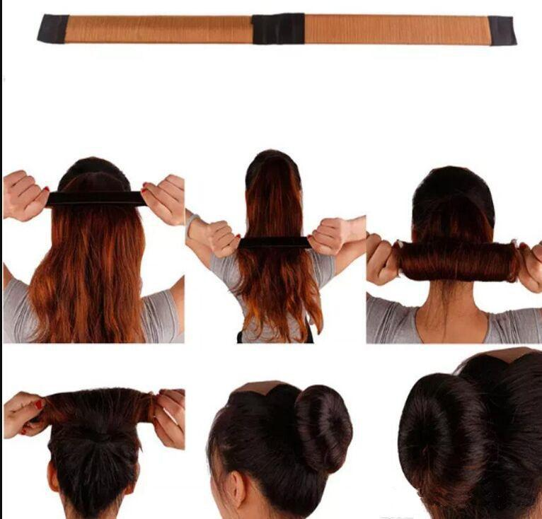 Acquista Strumenti Capelli Magici Creatore Di Cravatte Capelli Ragazza Fai  Da Te Styling Donut Former Foam Hair Bows Strumenti Di Torsione Francese ... bed8509e6993