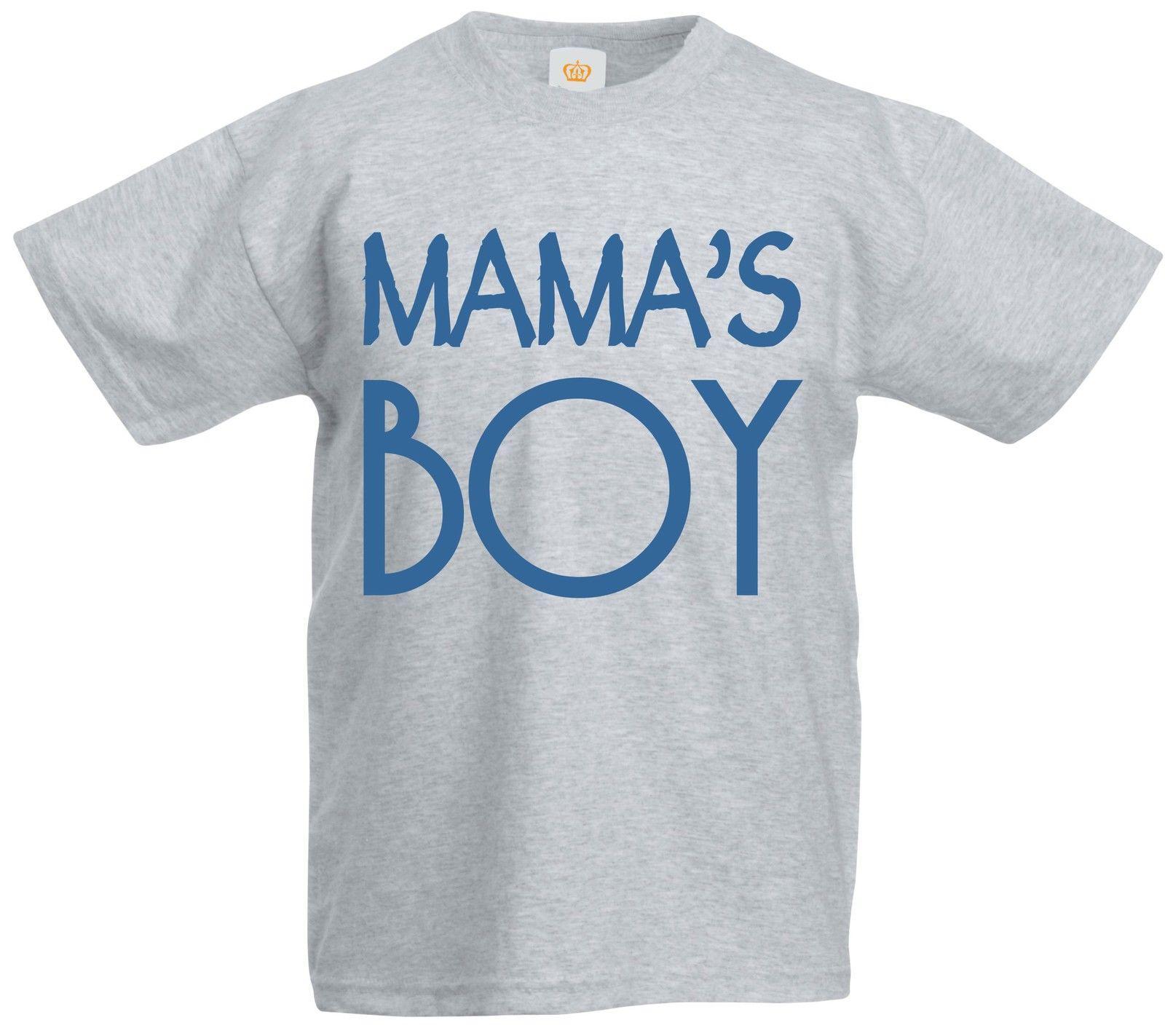Mama S Boy Mummy Mum Mothers Day Son Slogan Quote Birthday Party