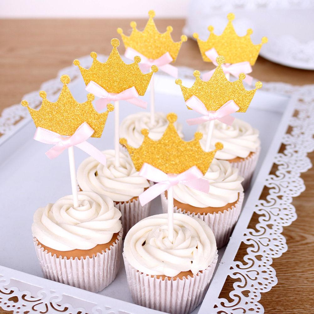 Glitter Crown Cake Topper Wedding Birthday Party Decoration Baby ...