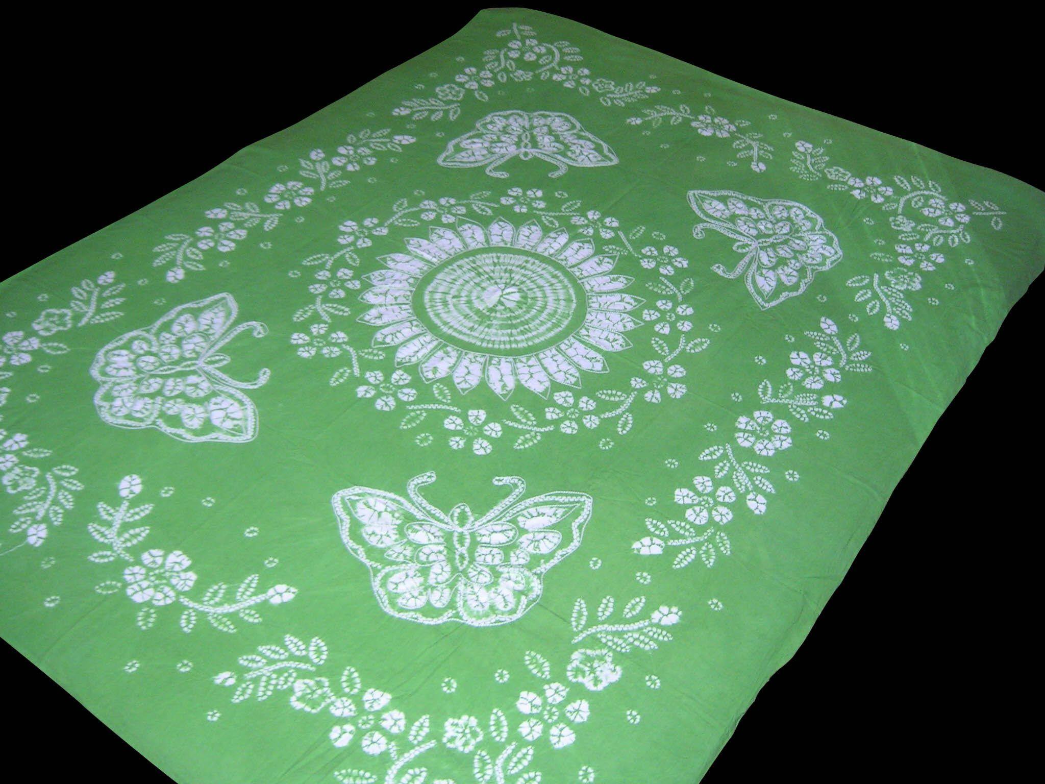 2018 100% Handmade Batik Art Pure Cotton Bed Sheet Spread Linen Bedding  Queen #237 From Orientalhome, $62.54 | Dhgate.Com