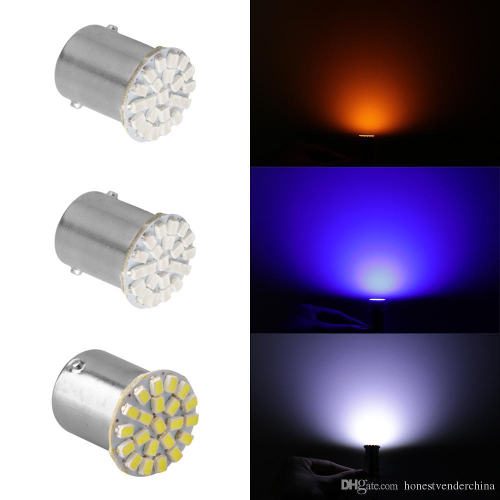 Lampes 1157 1156 Chaude P21w Allumer 22smd Ba15s 100x Ampoule Voiture Feux 12v Led De Frein Les Avant Ba15d Lumières Vente 80ONnPXwk