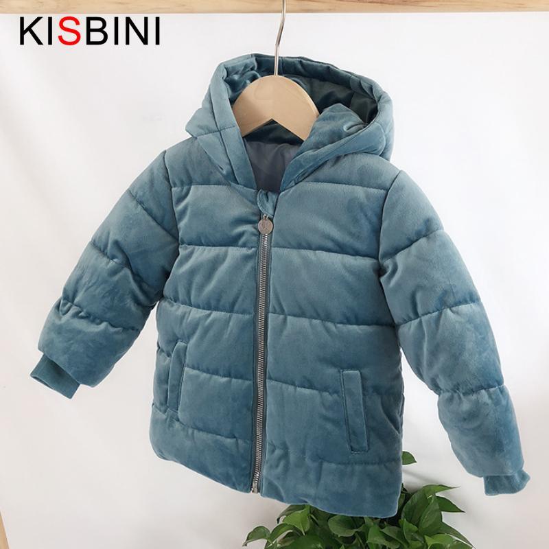 e6552e6f5af2 KISBINI Baby Boys Girl Winter Jacket Coat Down Coat Kids Winter ...