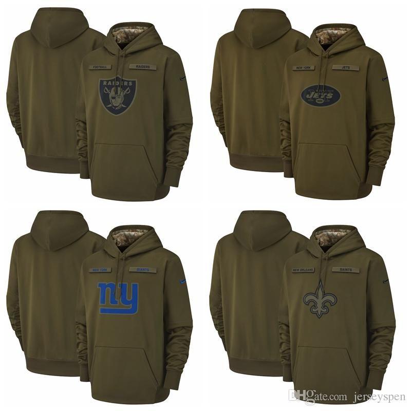 Oakland Raiders New York Jets New York Giants Orleans Saints Salute ... 5cc4ffa2a
