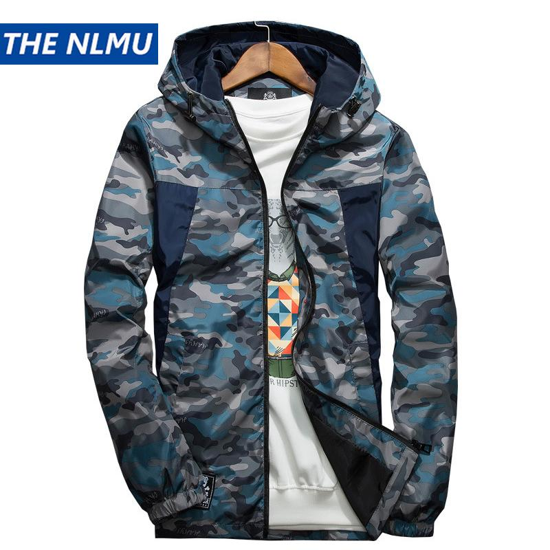 5eac7ceb38b Mens Casual Camouflage Hoodie Jacket 2018 New Autumn Plus Size Clothes Men'S  Hooded Windbreaker Coat Male Outwear 6xl Ws506 Mens Coats With Hoods  Oversized ...