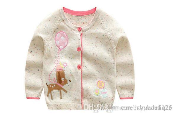 5b2c2b9d6 INS Styles New Hot Selling Girl Kids Spring Autumn Long Sleeve Pure ...
