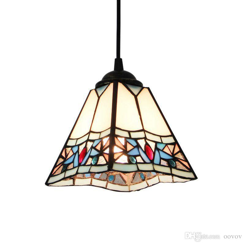 Tiffany classic dining room pendant lamp retro american country tiffany classic dining room pendant lamp retro american country balcony pendant light cafe bar shops pendant lamps pendant pendant lighting from oovov aloadofball Images
