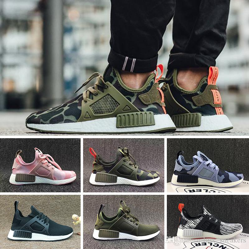 low priced aabe0 cc4cb Compre Adidas NMD XR1 Trainer Sports Shoes Running Shoes Mastermind Japan  Kull Fall Verde Oliva Camo Glitchdesigner Zapatos Azul Cebra Pack Hombres  Mujeres ...