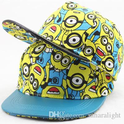 Cartoon Minions Kids Baseball Cap Adjustable Cute Baby Snapback Caps Flat Hip  Hop Hat For Children B 002 The Game Hats Baby Caps From Saharalight 6c0c71279e8a