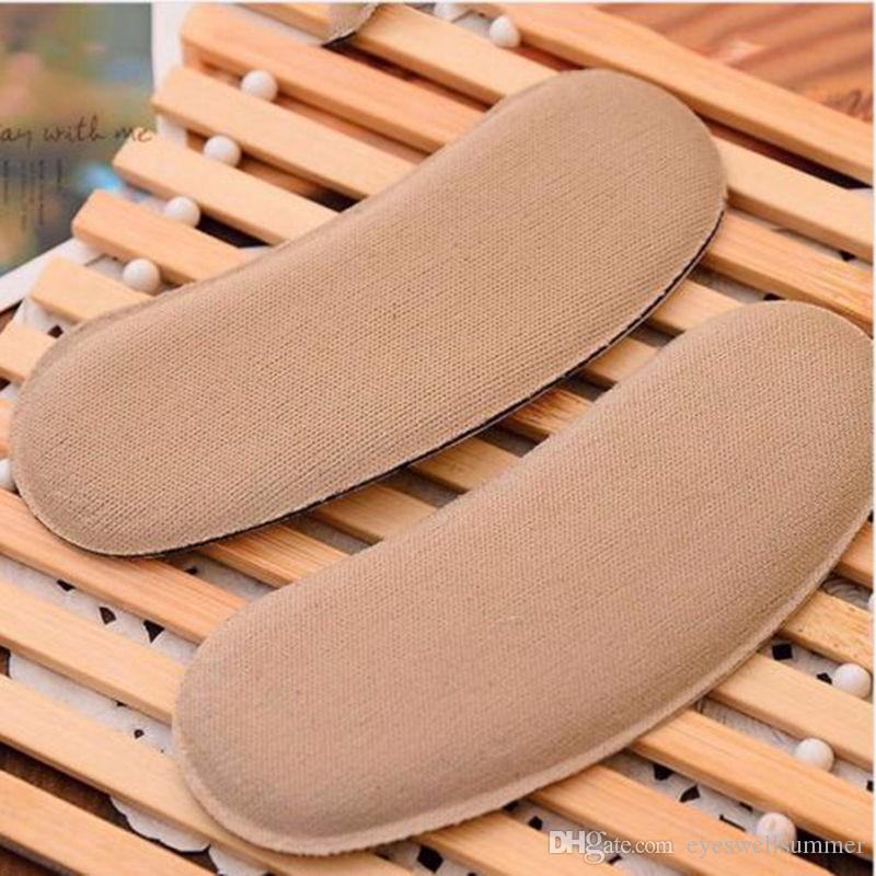 Sticky Tessuto scarpe Pad Tessuto scarpe Torna alzatacchi sottopiedi rilievi dell'ammortizzatore protegge indietro Heel Grip Liner