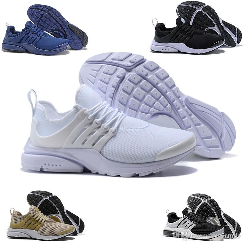 sneakers for cheap aab50 73315 Acheter NIKE Air Presto Flyknit Ultra Nouveau PRESTO BR QS Breathe Jaune  Noir Blanc Hommes Prestos Chaussures Sneakers Femmes Chaussures De Course  Hommes ...