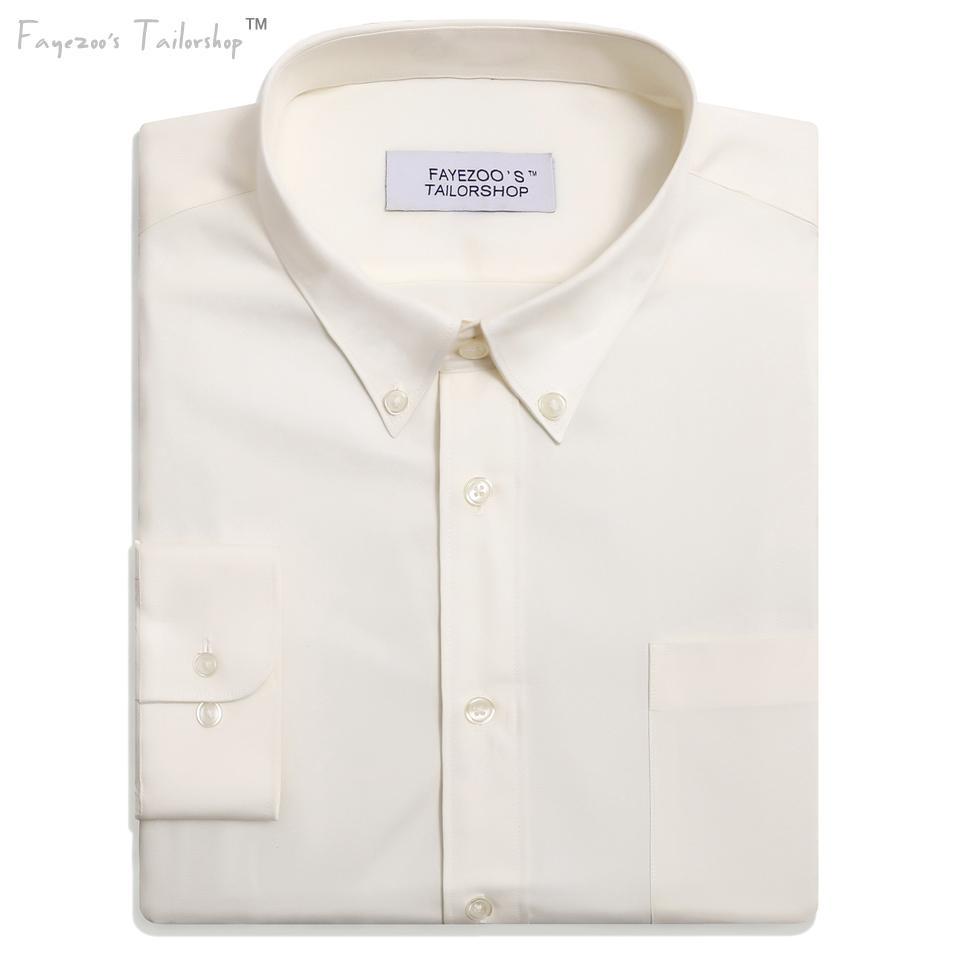 6b0f54c689 Camicia elegante da uomo in cotone non stiro leggero al 100%, vestibilità  classica, colletto button down classico, vestibilità formale