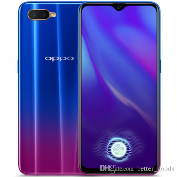 """Original OPPO K1 4G LTE Cell Phone 6GB RAM 64GB ROM Snapdragon 660 AIE Octa Core 25.0MP AI Android 6.4"""" OLED Full Screen Fingerprint ID Smart Mobile Phone"""