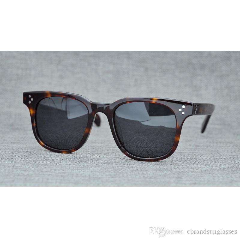 Compre 2019 Oliver Povos OV5236 Polaroid Polarizada Óculos De Sol Óculos De  Sol De Estilo Retro Design Grosso Óculos De Sol Para Homens E Mulheres De  ... d01c5b9bf9