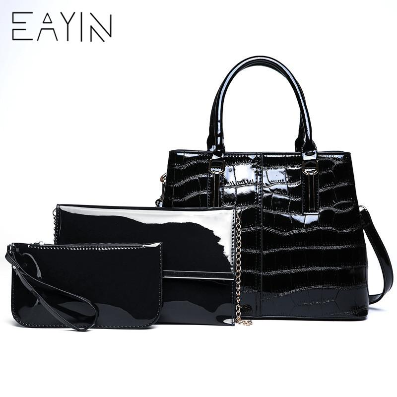 92d35a5efa6c EAYIN Women Patent Leather Handbags Luxury Women Bags For Girls ...