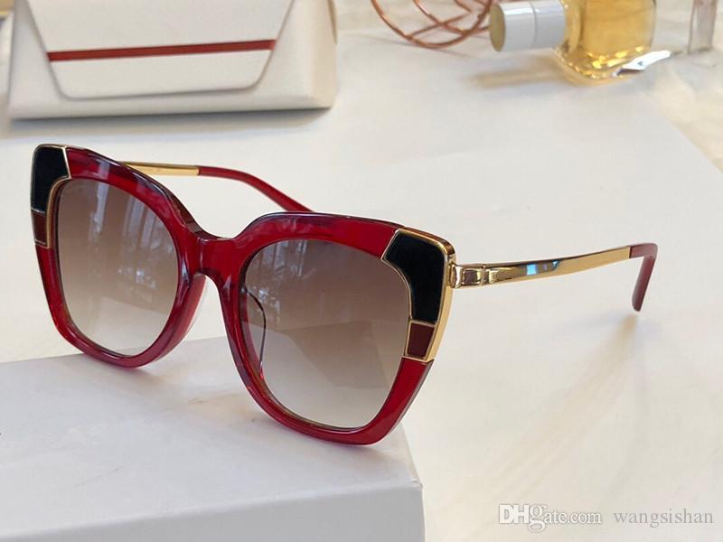 f89da3d8ba0 New Fashion Luxury Designer Sunglasses 889 for Women Popular Cat Eye ...