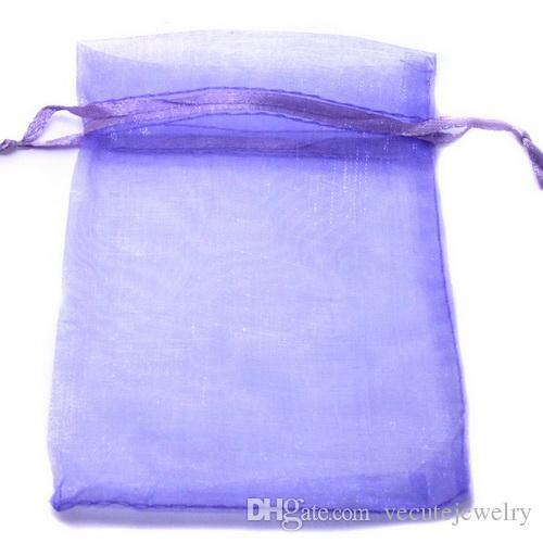 16 cores tamanhos completos sacos de organza para favores de presente da jóia baggies bolsa de casamento pequenos sacos a granel por atacado fabricante preço barato