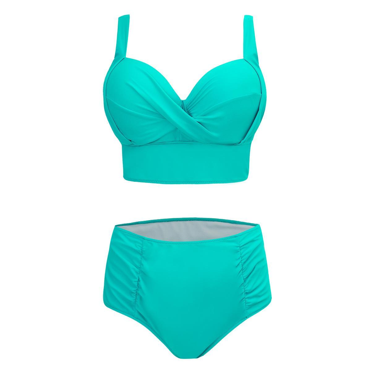 0c47bf6a0901e 2019 Elliehouse Sexy High Waist Bikini Set Swimwear Women Swimsuit Push Up  Womens Bikini Halter Top Bathing Suit Beachwear Plus Size 5xL From  Elliehouse, ...