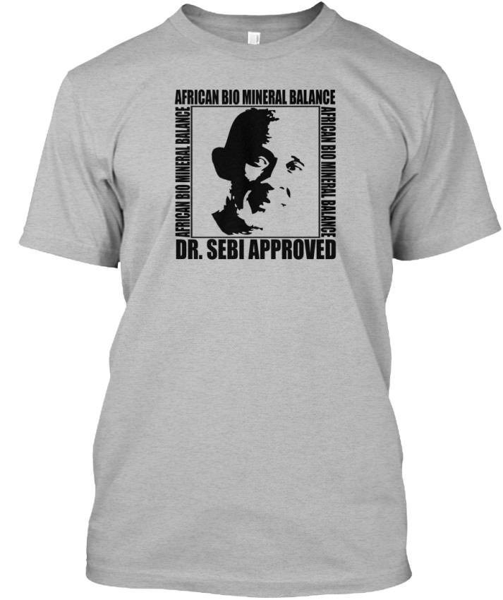 Dr  Sebi - African Bio Mineral Balance Approved Standard Unisex T-Shirt