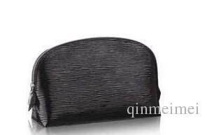 MENS womens brown letter brown plaid white plaid wash bag lady's zipper coin pocket Cosmetic bag Classic shellfish Handbag M47515 TOILETRY