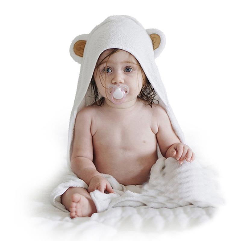 Acheter Bébé Enfants Panda Style Bain Wraps Serviette 100% Bambou Fiber À  Capuchon Peignoirs Couverture Baignoire Serviette De Bain Enfants Plage  Ponchos De ... 07fdd8fc1a6