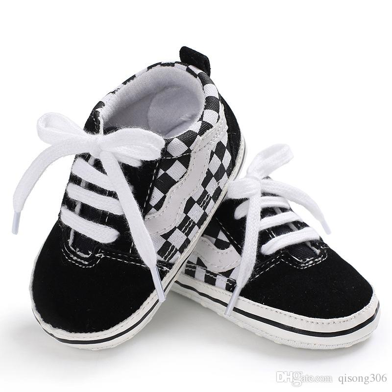 2018 Fashion New Autumn Baby Shoes Kid Boy Girl Fox Head Lace Cotton Cloth First Walker Anti-slip Soft Sole Toddler Sneaker