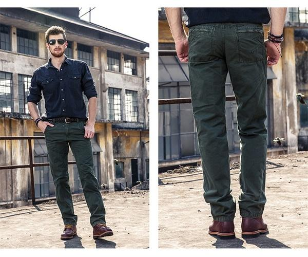 Großhandel Mens Cargo Pants Hommes Casual Style Jogger