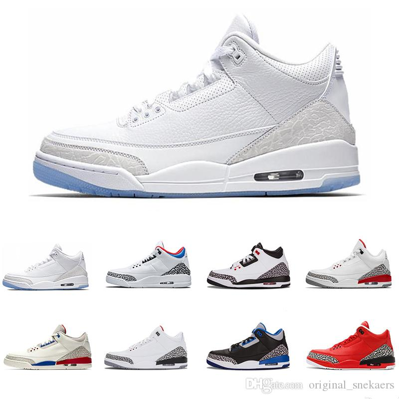 huge discount 1728c 586fb Großhandel Pure Retro Jordan White Katrina Mens Basketball Schuhe Hot  Internation Flug Soule Grateful Wolf Grau Sport Blau Mann Turnschuhe Feuer  Red ...