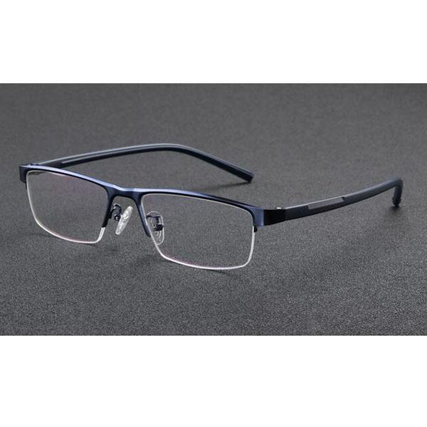 975455198a5 Half-Rim Reading Glasses Photochromic Eyeglasses Color Change Lens ...