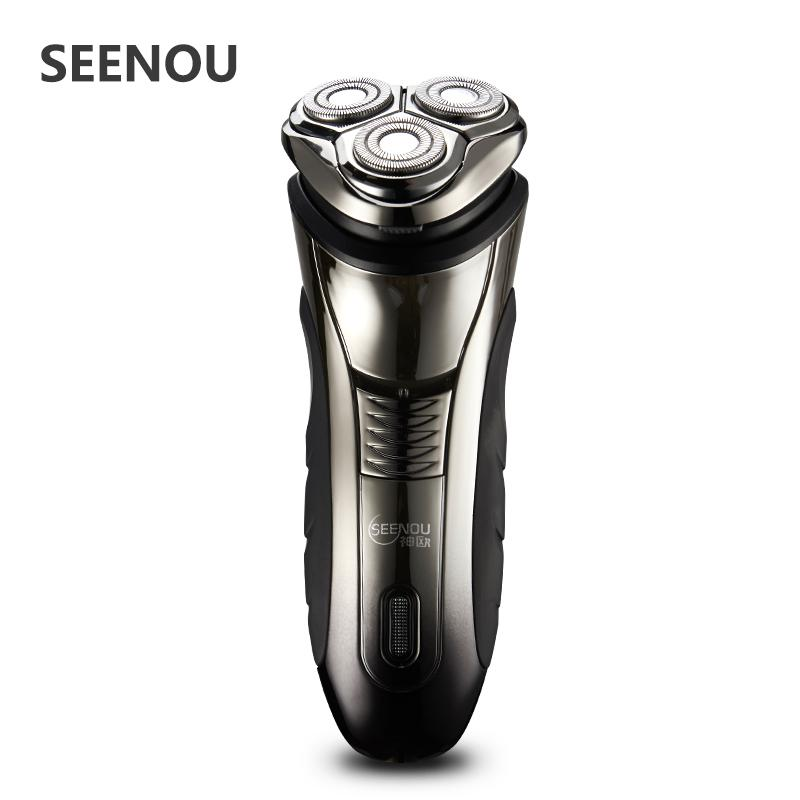 Máquina de afeitar eléctrica para hombres 4D flotante lavable de hombres  recargables maquinillas de afeitar eléctricas rotativas con recortador de  pop-up ... 1b1a98160c71
