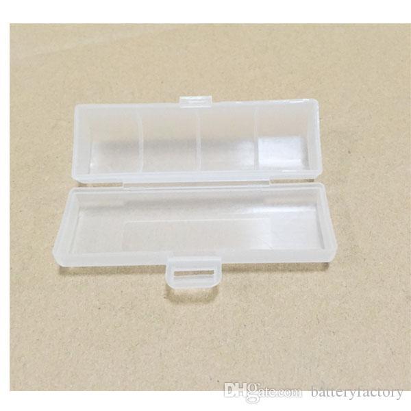 단일 18650 배터리 건강 한 재료 전자 담배 예비 부품에 대 한 / pack 원래 플라스틱 스토리지 케이스
