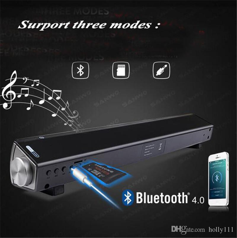 LP-08 Bluetooth Speaker Stereo surround wireless HIFI Speakers For Computer PC Tablet TV home use DHL