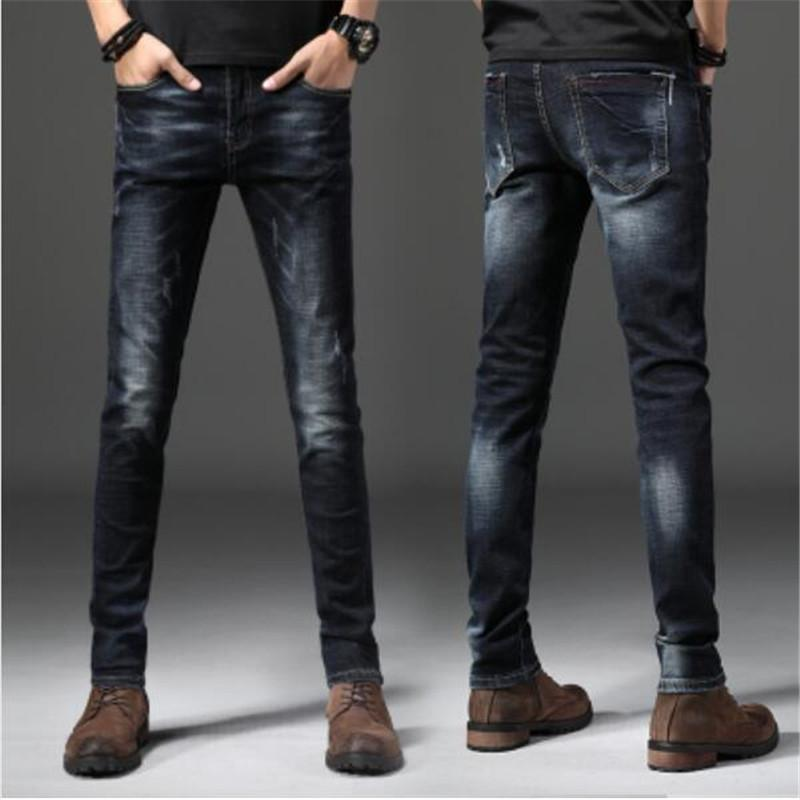e449219980 2019 Autumn And Winter New High Quality Stretch Men S Jeans