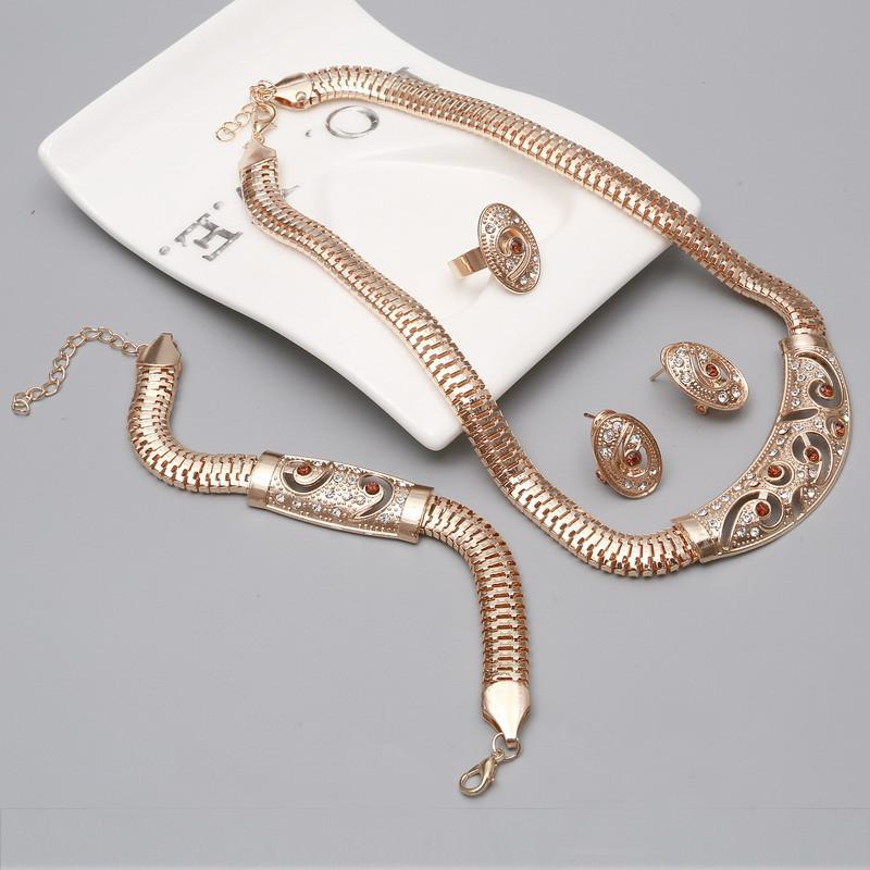Set di gioielli di perle africane Set di gioielli di perle di nozze