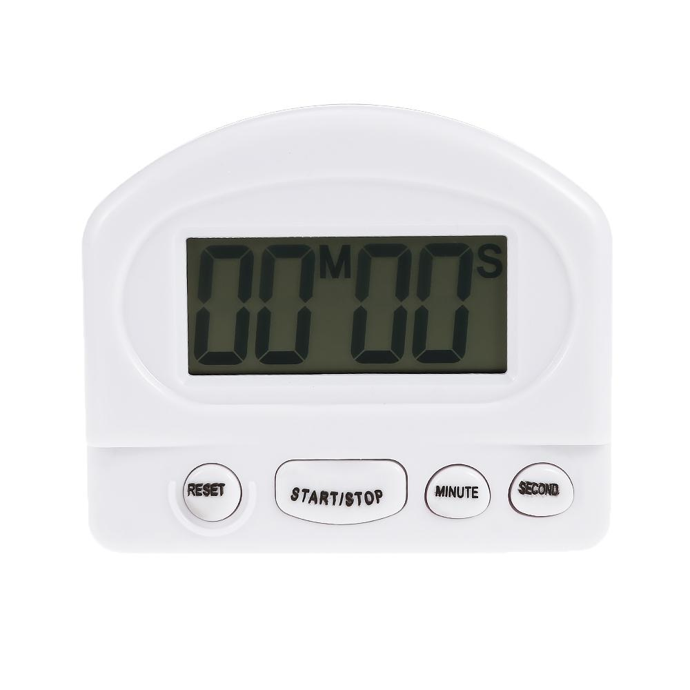 2018 Lcd Digital Kitchen Countdown Timer Alarm With Stand White ...