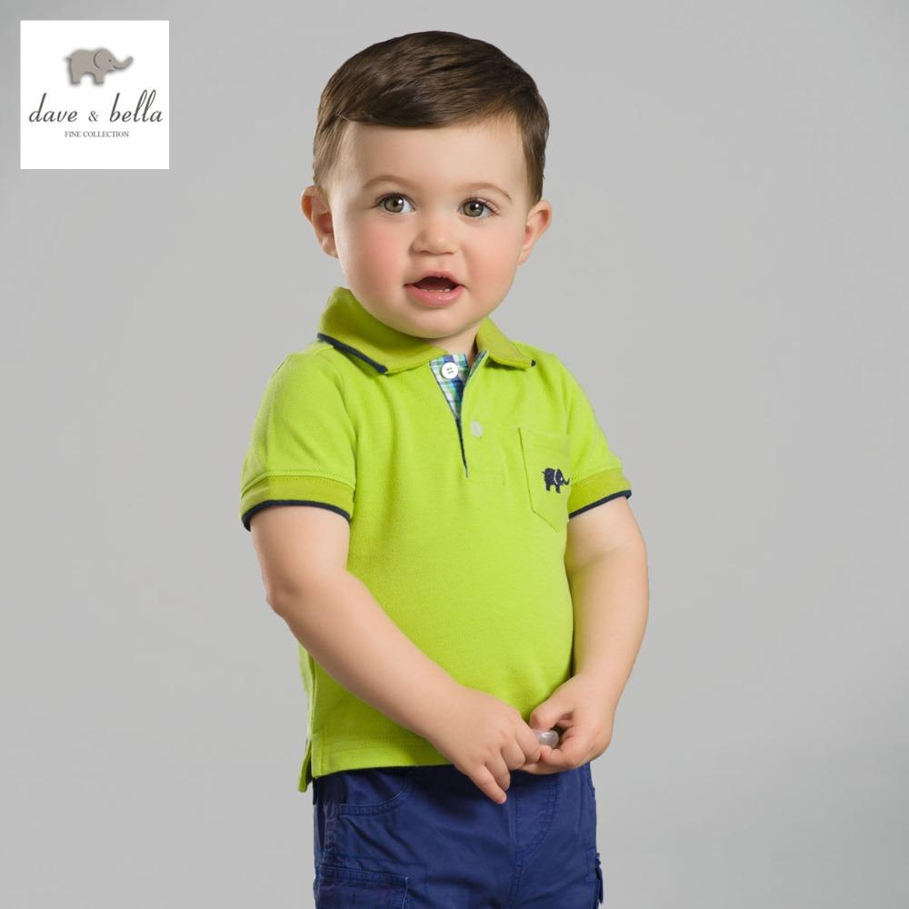 cbc225083 2019 Db2636 Dave Bella Summer Baby Boys Cotton Polo Shirts Infant Clothes  Toddle Polo Kids Tops Children Cotton Polo Shirt From Runbaby, $38.36 |  DHgate.Com